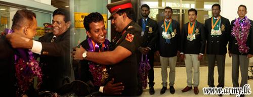 Sri Lanka's Shooters Win IMSSU World Championship - 2016 & Return Home to a Warm Welcome