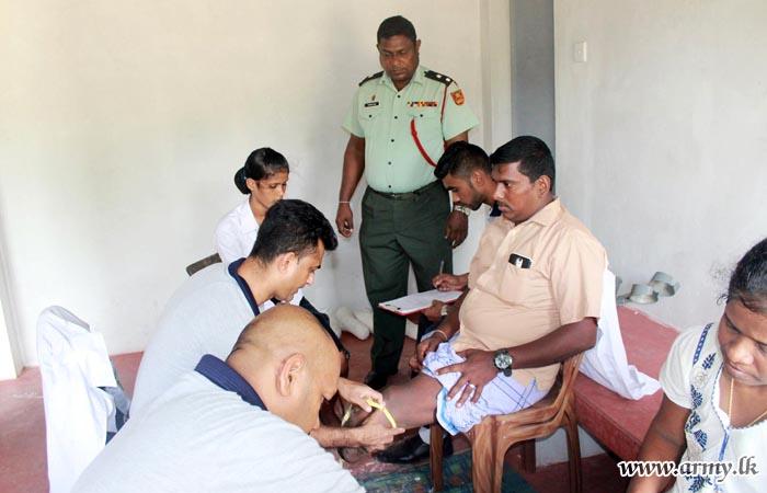 Artificial Limbs Given Free to Kilinochchi Civilians