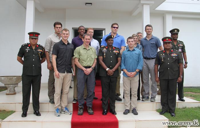 US Military Cadets Call at SFHQ-J