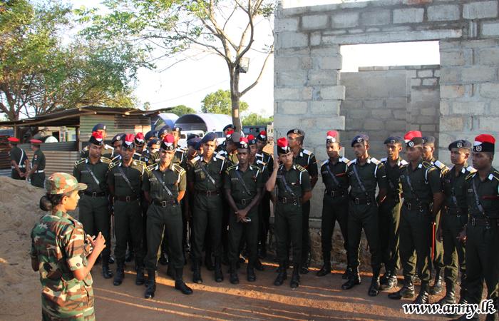 Intake - 82 Officer Cadets Visit Mullaittivu, Kilinochchi & Jaffna