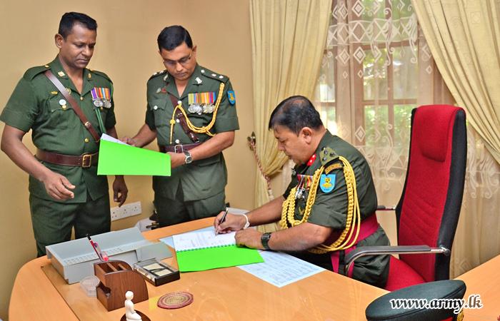 New Commander FMA-East Assumes Duties