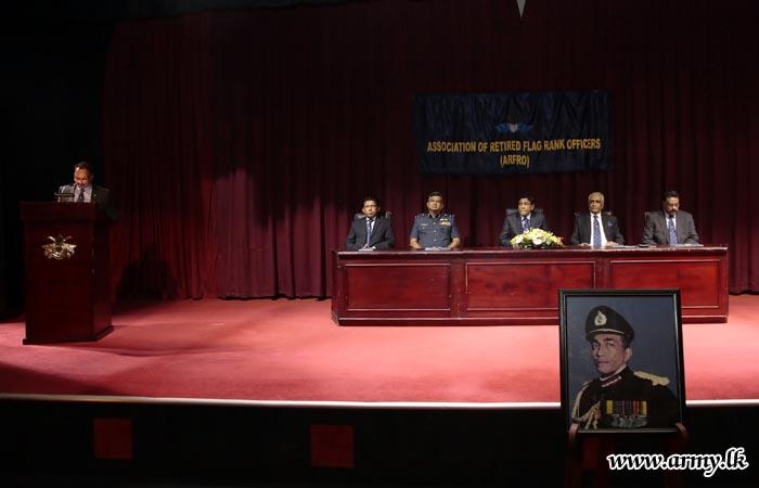 General Deshamannya Denis Perera Oration Delivered