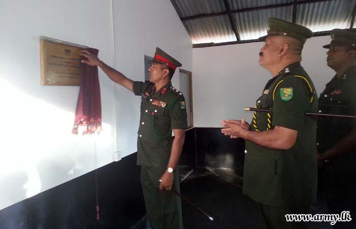 613 Brigade Troops Build New Kitchen