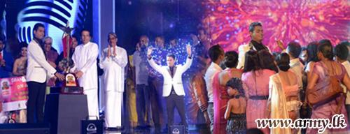 Army's Glamorous Gunner Sampath Sri Palansuriya Emerges 'Super Star' in 'Ranaviru Reality Show'