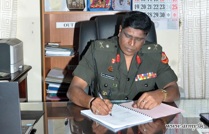 Major General A.P De Z Wickramarathna, New DGGS Assumes Office