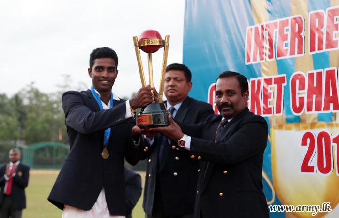 Inter Regiment Cricket Tournament Concludes