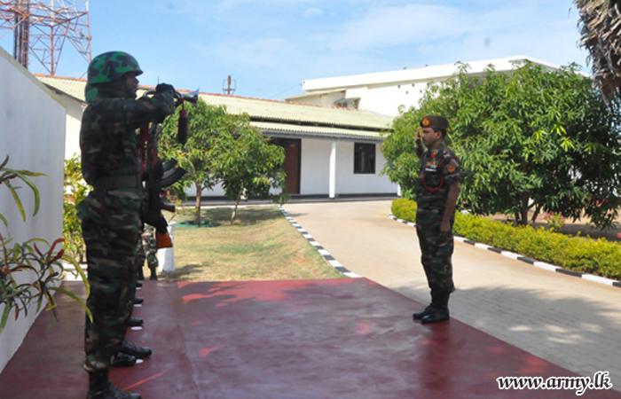 Kilinochchi Commander Visits 66 Division