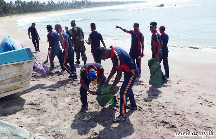 10 GW Troops Clean Coastal Belt