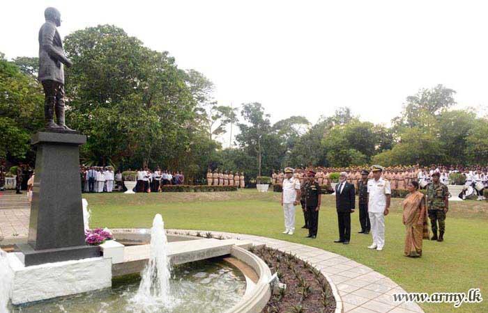 120th Birth Anniversary Ceremony of General Sir John Kotelawala Commemorated