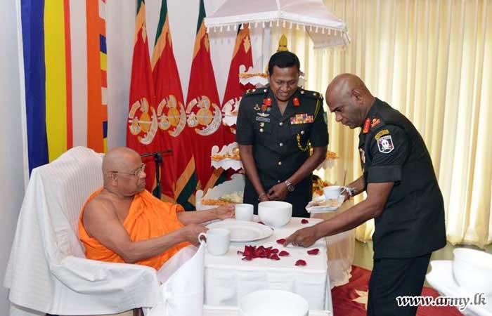 Gajaba Regiment Commemorates 25th Death Anniversary of Their War Veteran Late Major General Vijaya Wimalarathne