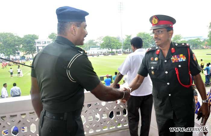 Army Ruggerites Defeat CH & FC