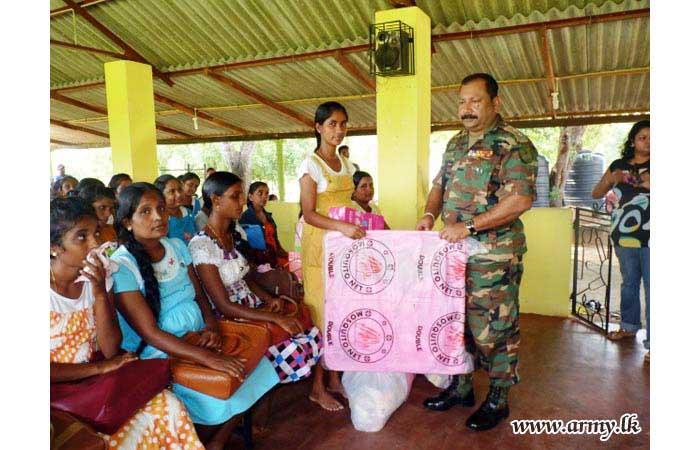 Nutrients & Essentials Donated to Pregnant Women Thru Army Coordination
