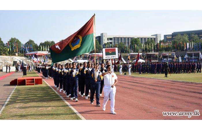 Spirited SLAVF Athletes Begin their Annual Athletic Championship