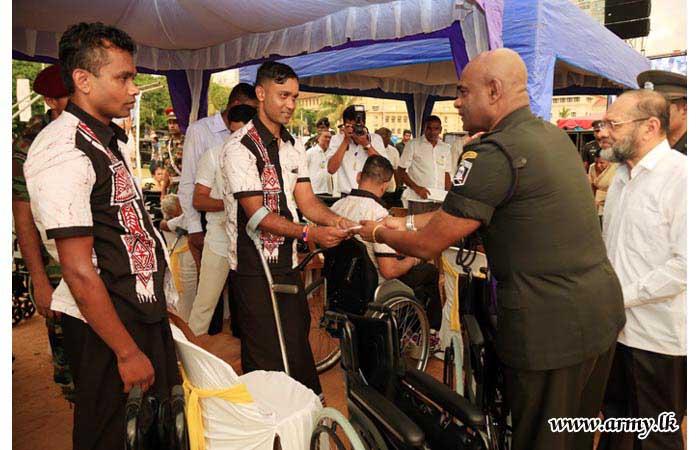 Islamic Spiritual Organization Donates Wheelchairs to Tri-service War Heroes & Civilians