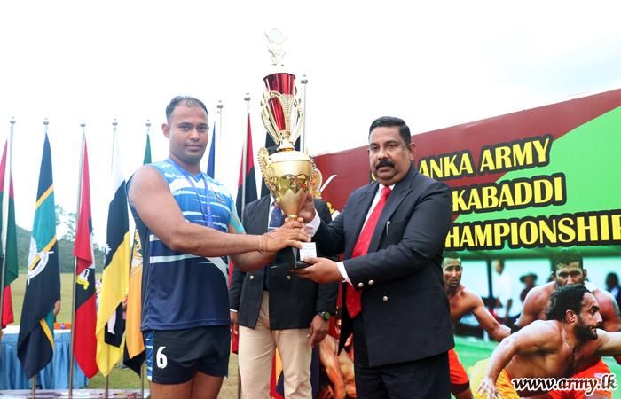SLAGSC Wins Army Inter Regiment Circle Kabaddi Championship 2018