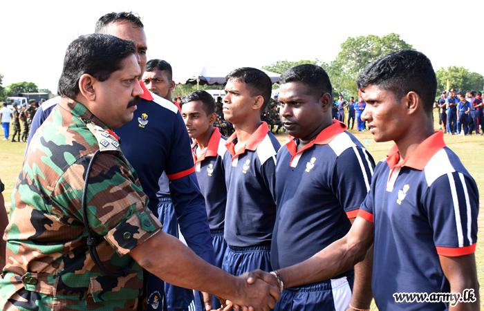 Kilinochchi Troops & Civil Clubs Vie in Cricket & Volleyball Tournament