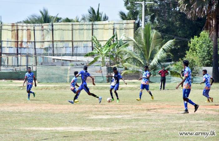 Over 200 Mullaittivu Footballers Vie in Army-Organized Tournament