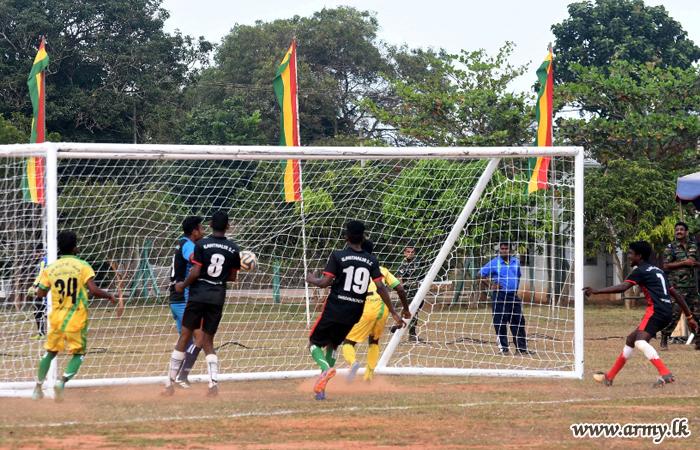 Kilinochchi Civil Teams Vie in Soccer Tournament