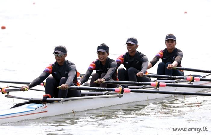 Sri Lanka Army Women Shine in 34th National Rowing Championship