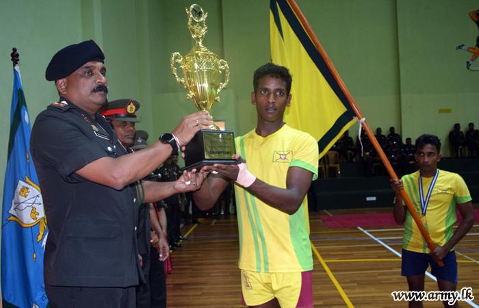 Kabbadi Championship Goes to 22 Div Players
