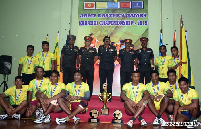 கபடி சம்பியன்ஷிப் போட்டியில் 22 ஆவது படைப்பிரிவு வெற்றி