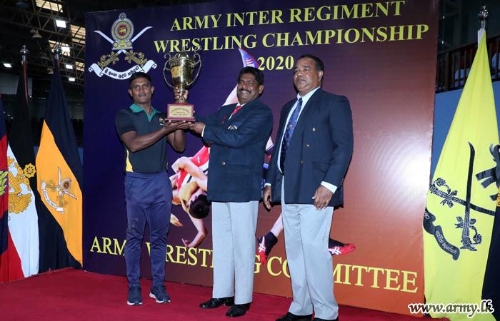 Sinha Wrestlers Win Inter Regiment Wrestling Championship 2020