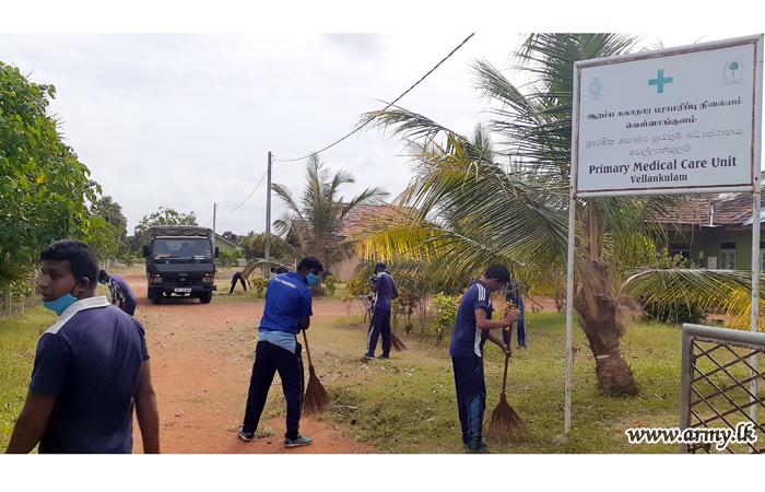 SLLI Troops Contribute to Dengue Prevention