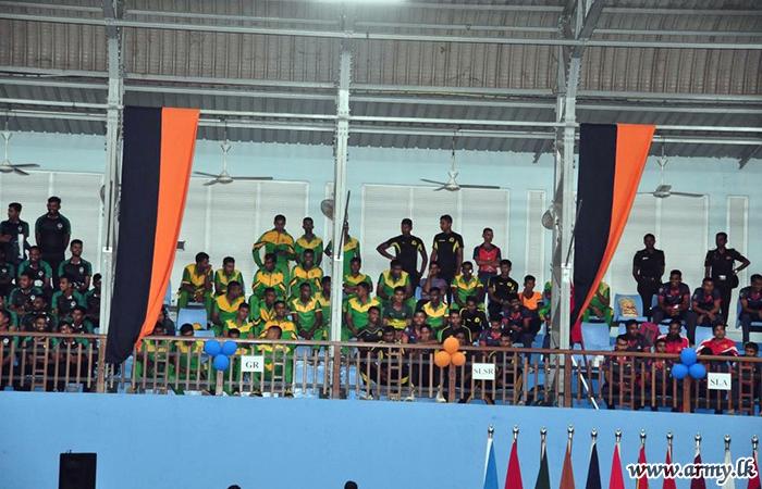 Inter Regiment Taekwondo Tournament Held at Panagoda