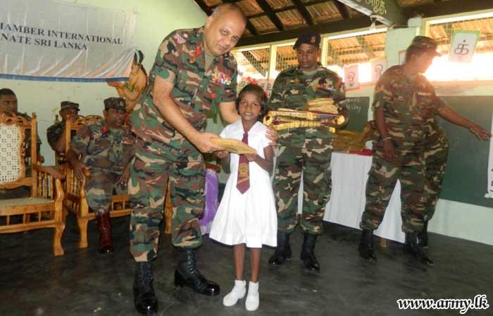 Chavakachcheri Students Get Free School Accessories