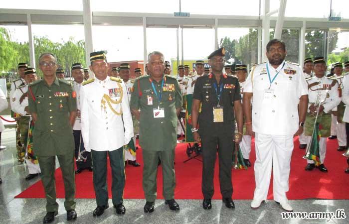 Sri Lankan Army Chief among Invitees at DSA in Malaysia