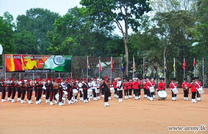 Exercise 'Mitra Shakti - 2016' Draws to a Close
