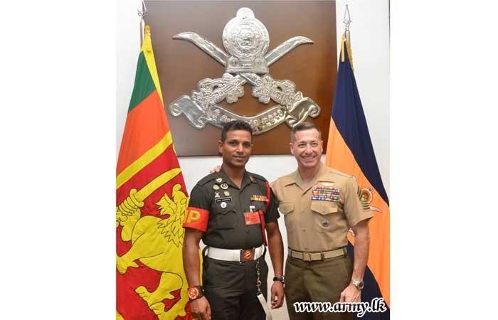 US PACOM Sergeant Major Enlightened on NCOs' Career Development