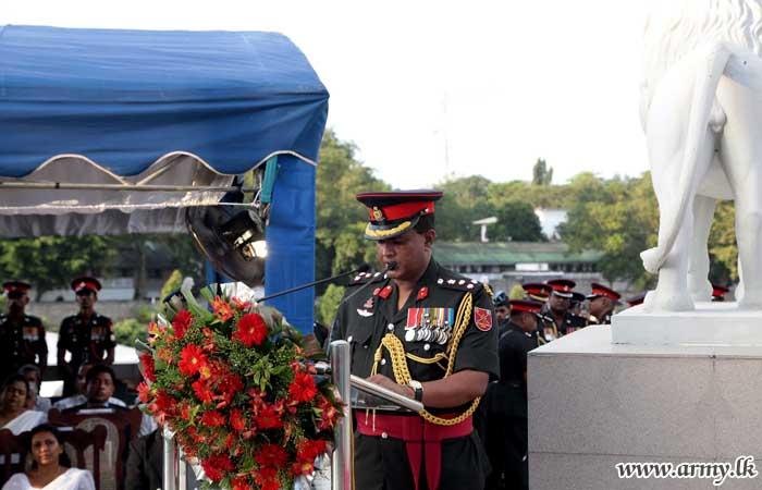 Memory of SLLI War Heroes Revered in Flowers