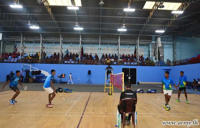 Inter Regiment Badminton Trophy - 2018 Goes to SLLI