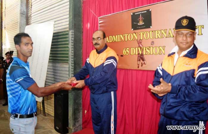 10 SLLI Wins 65 Division Badminton Tournament