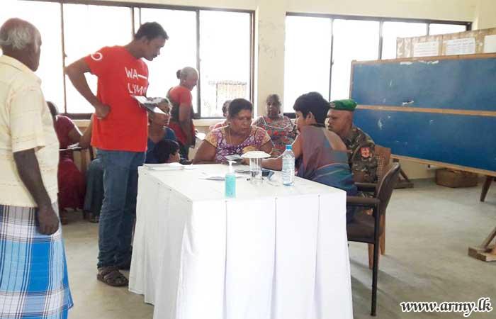 512 Brigade Troops Coordinate Medical Clinic in Nawanturai