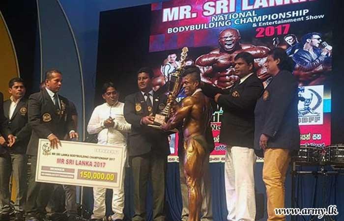 Army Body Builder Sergeant W.G Amila Wins Mr Sri Lanka- 2017