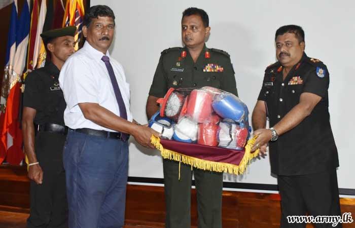 SFHQ-MLT Felicitates Mulliaveli Boxing Champions