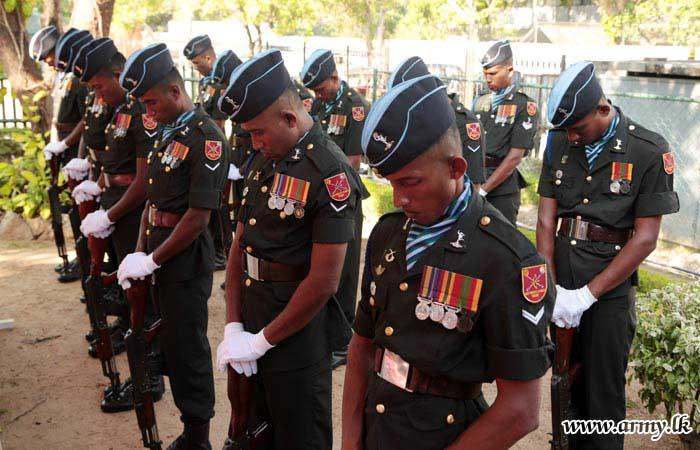 Military Honours Salute Late Brigadier K.J.N Senaweera's (Rtd) Final Journey