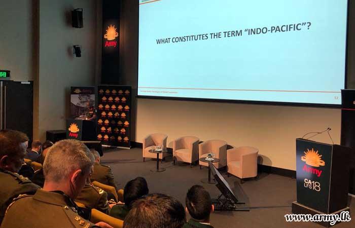 Commander Keynote Speaker at Australian Army's CALFS18