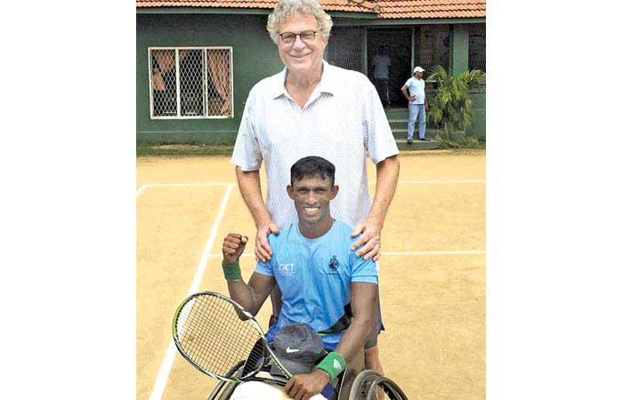 Army Wheelchair Tennis Player Wins Men's Singles Championship