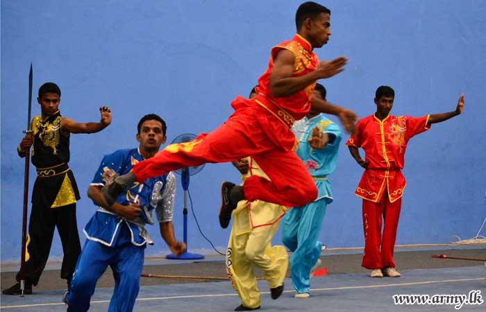 Inter Regiment Wushu Championship Goes to SLSR & SLSC | Sri Lanka Army
