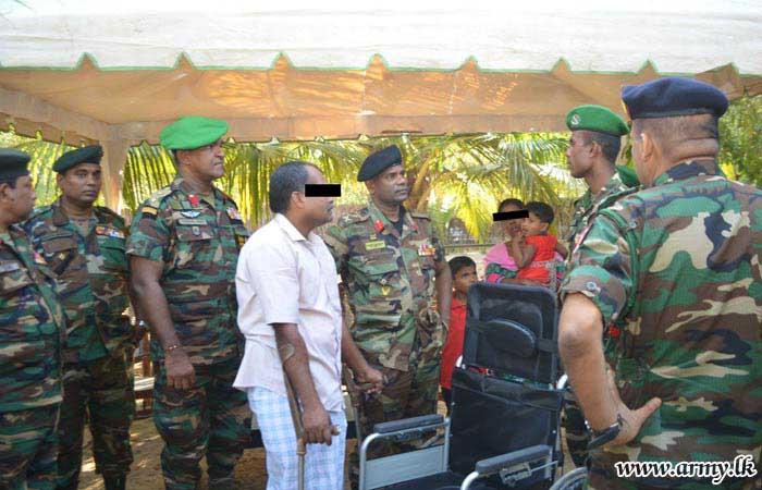 Jaffna Ex- Combatant's Need Fulfilled