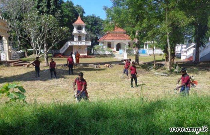 121 Brigade Troops Conduct 'Shramadana' Campaign