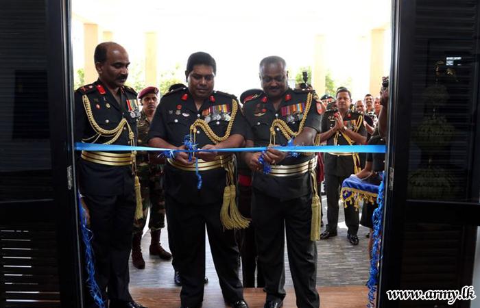 12 Division Headquarters Enters Into New Complex