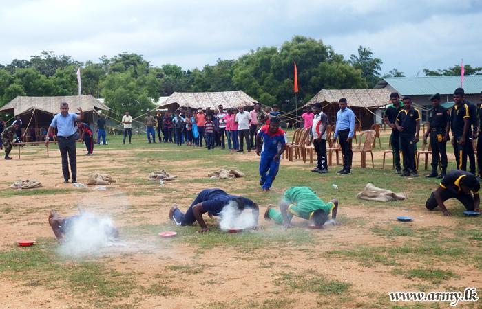 ஹம்பாந்தோட்டை 12 ஆவது படைப் பிரிவினரால் புத்தாண்டு நிகழ்வுகள்