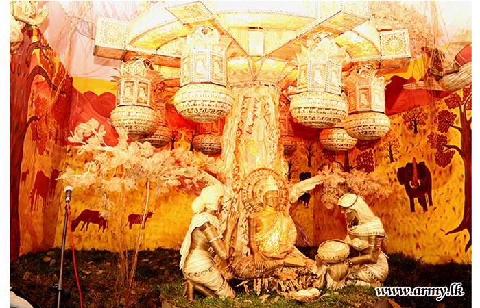 இலங்கை தேசிய பாதுகாப்பு படையணியின் பௌத்த சமய நிகழ்வுகள்