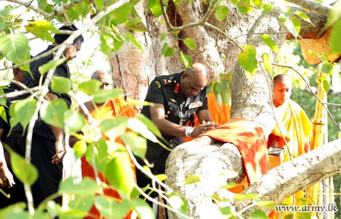 ஜெய ஸ்ரீ மஹா போதியில் இராணுவ ஆசீர்வாத நிகழ்வுகள்