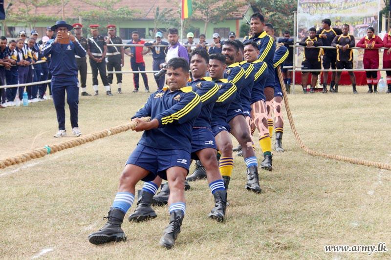 14ஆவது சர்வதேச கயிறிழுத்தல் போட்டியில் இராணுவத்தினர் வெற்றி