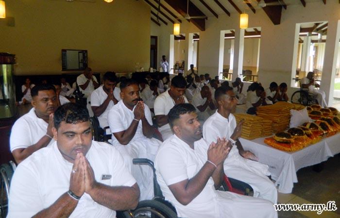 'Pirith Chanting' & Alms-Giving Mark 'Abhimansala - 3' 4th Anniversary